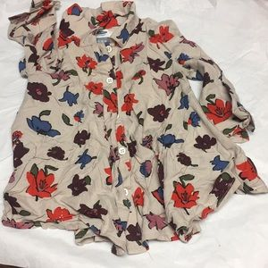 Old navy long sleeves camisole 12-18 months